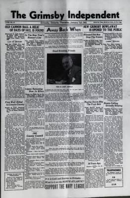 Grimsby Independent, 7 Jan 1943