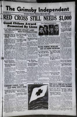Grimsby Independent, 18 Mar 1943