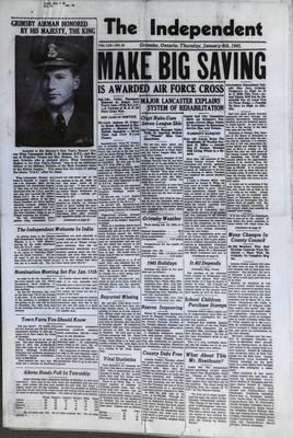 Grimsby Independent, 4 Jan 1945