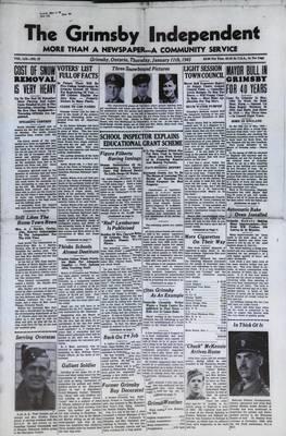 Grimsby Independent, 11 Jan 1945