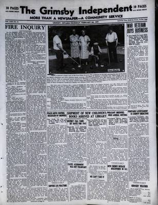 Grimsby Independent, 6 Feb 1947