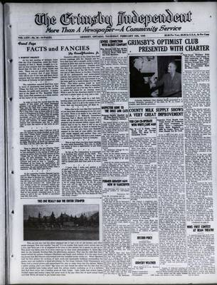 Grimsby Independent, 10 Feb 1949