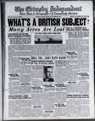 Grimsby Independent, 20 Oct 1949
