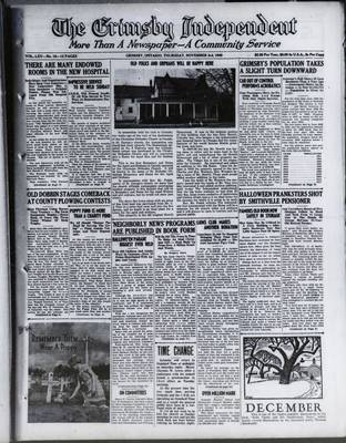 Grimsby Independent, 3 Nov 1949
