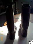 Reg Faris's Boots (back)