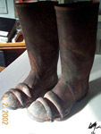 Reg Faris' Boots (front)