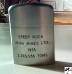 Steep Rock Iron Mines Lighter (1955)