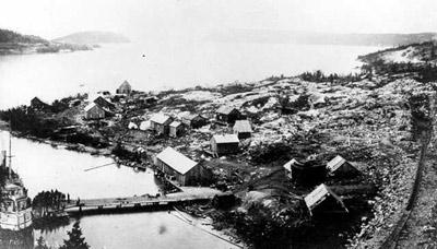 The Village of Jackfish (~1889)