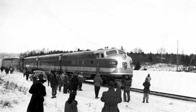 New Age of locomotives - CPR (~1949)