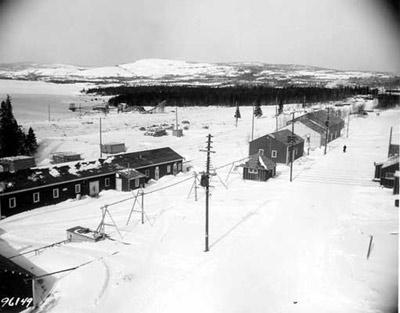 Marathon Train Station (~1946)