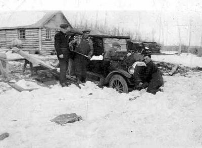 Men Working on Truck (Dorion)