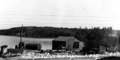 Ear Falls Generating Station - Unit #4 (August 1947)