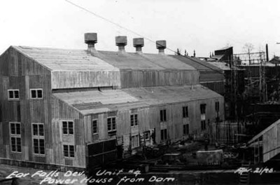 Ear Falls Power House (1948)