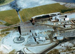 Aerial View of Griffith Mine - Buildings