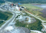Aerial View of the Griffith Mine