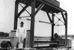 Ear Falls Generating Station - Head Gate Crane