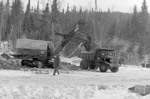 First use of B.Mc.Q. Shovel at GECO mine (1963)