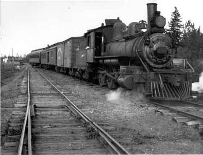 PAD&W Railway - Engine 108 (~1918)