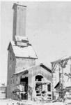 Howey Mines Headframe (1942) - Removal of Rockcrusher