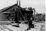 Howey Gold Mines - Installation of Steam Boiler (1928)