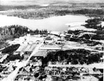 Aerial View of Cochenour - Willans Mines (~1942)