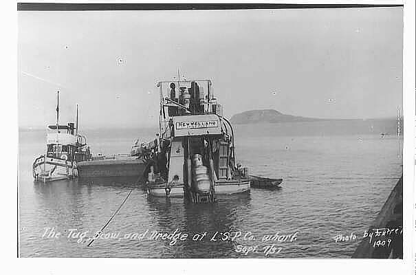 Dredging Nipigon Bay (1937)