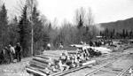 Construction of Canadian National Tracks (1937)