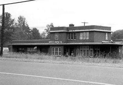 C.P.R. Station, Red Rock. (1988)