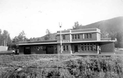 Canadian Pacific Railway Station - Red Rock (1948)