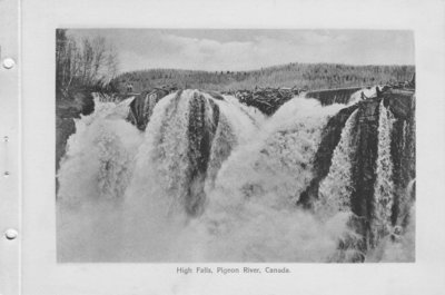 High Falls, Pigeon River (1926)