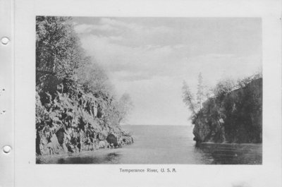 Temperance River, Minnesota (1926)