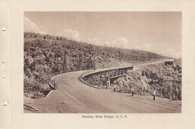 Manitou River Bridge, Minnesota (1926)