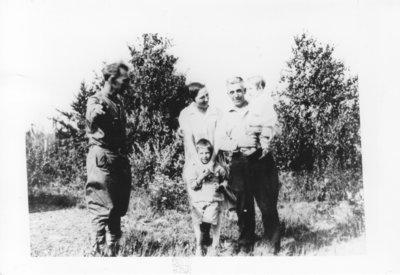 Family at Savant Lake