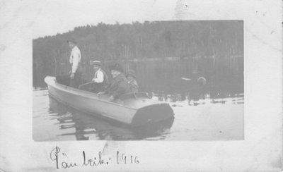 Boating at Pass Lake (1916)