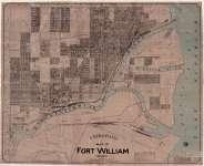 Map of Fort William, Ontario (1913)