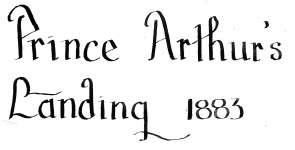 Prince Arthur's Landing