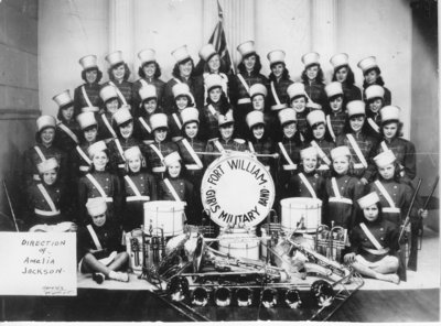 Fort William Girl's Military Band