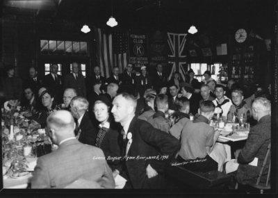 Kiwanis Banquet Pigeon River, June 8, 1938