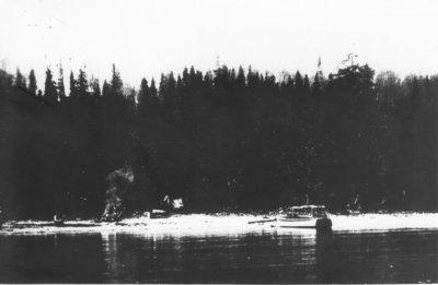 Camping at Otter Cove - north shore on Lake Superior