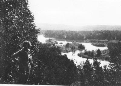 Overlooking Pigeon River