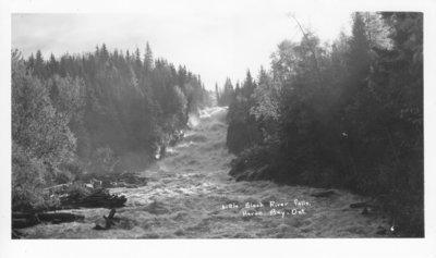 Little Black River Falls, Heron Bay, Ontario