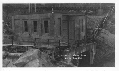 Power House, Black River, Heron Bay, Ontario
