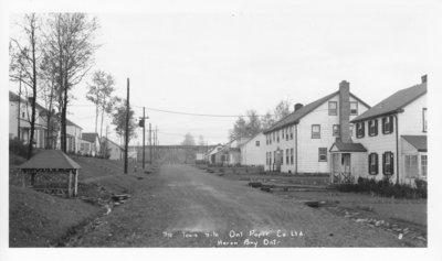 The Townsite, Ontario Paper Co. Ltd., Heron Bay, Ontario
