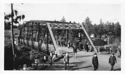 Pigeon River Bridge, International Boundary