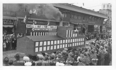 Victory Loan Parade, June 1, 1941, Port Arthur, Ontario: The Gateway ...
