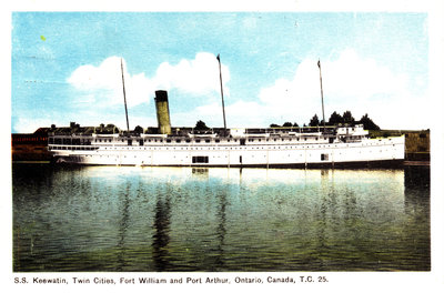 Ship: S.S. Keewatin