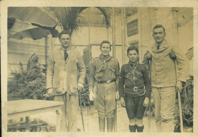 Scouts at Hospital