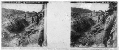 Approach to Fort Vaux - Verdun