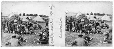 Haudlaincourt Camp - American Soldiers