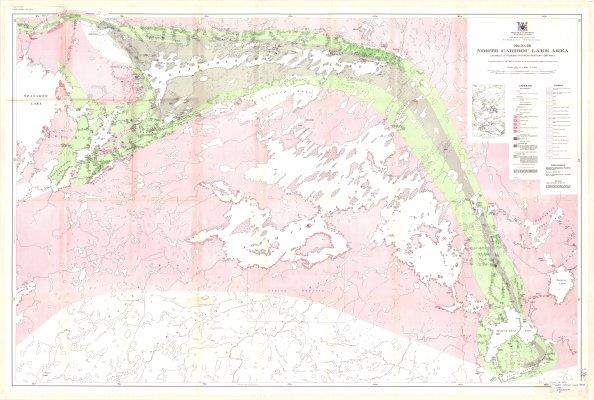 North Caribou Lake Area : District of Kenora (Patricia Portion), Ontario